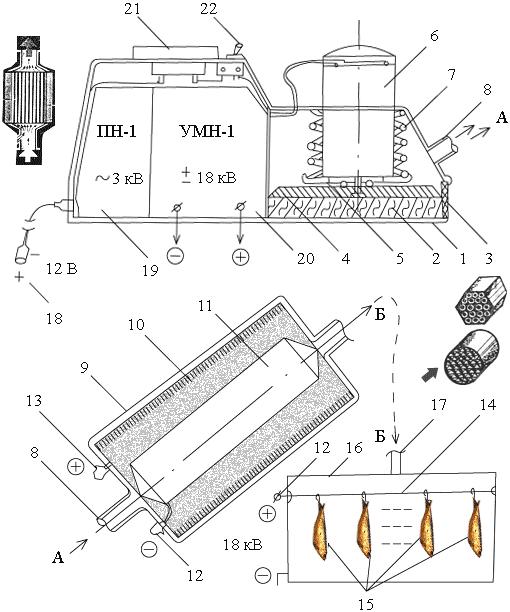 Электростатическая установка для копчения своими руками - Russkij-Litra.ru